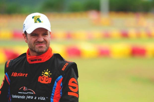 Rubens Barrichello e Tony Kanaan vo correr as 24 Horas de Daytona Charles Guerra/Agencia RBS