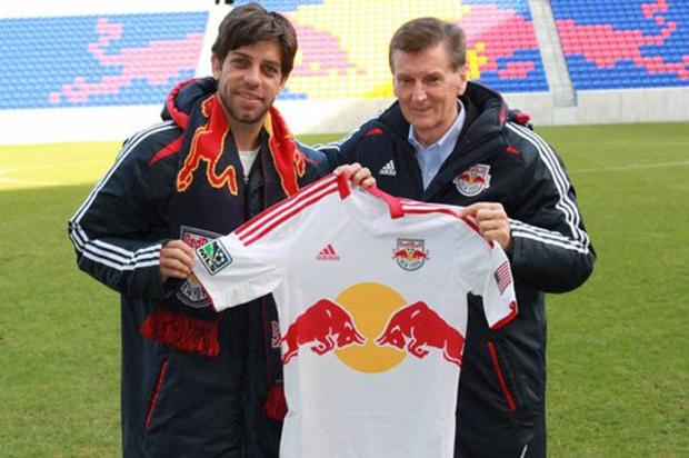 Juninho Pernambucano deixa o Vasco e vai para o New York Red Bulls New York Red Bulls/Divulgao/