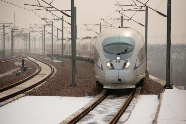 Maior linha de trem-bala do mundo é inaugurada na China Ed Jones/AFP