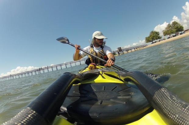 Expedição de caiaque partirá do RS e percorrerá toda a costa brasileira Marcel Avila/Especial