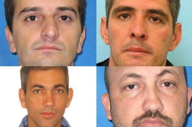 FOTOS: Polícia divulga nomes dos suspeitos de assalto a fábrica em Cotiporã Divulgação/Divulgação