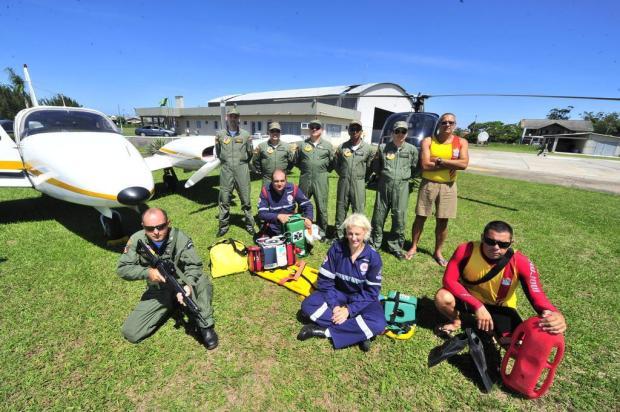 Avião adaptado para transportar pacientes é parceria inédita no Litoral Lauro Alves/Agencia RBS