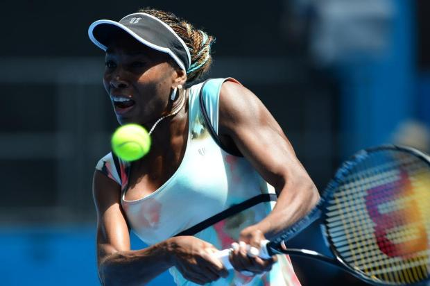 Ex-número 1 do mundo, Venus Williams está confirmada em evento da WTA em Florianópolis WILLIAM WEST/AFP