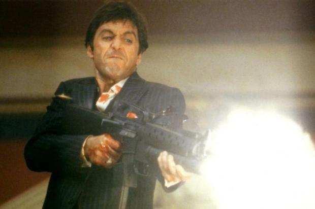 Al Pacino e Brian De Palma repetem a parceria de 'Scarface' Universal/Divulgao
