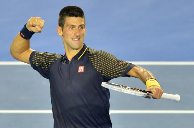 Novak Djokovic vence David Ferrer e vai à final do Aberto da Austrália PETER PARKS / AFP/
