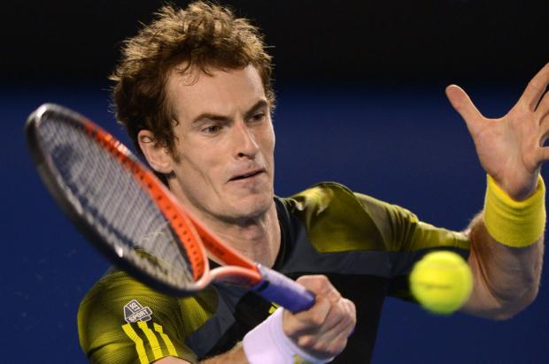 Murray vence Federer em cinco sets e vai à final do Aberto da Austrália GREG WOOD / AFP/