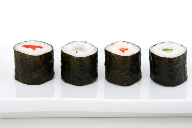Combine sushi com vinho Stock.Xchng/Divulgao