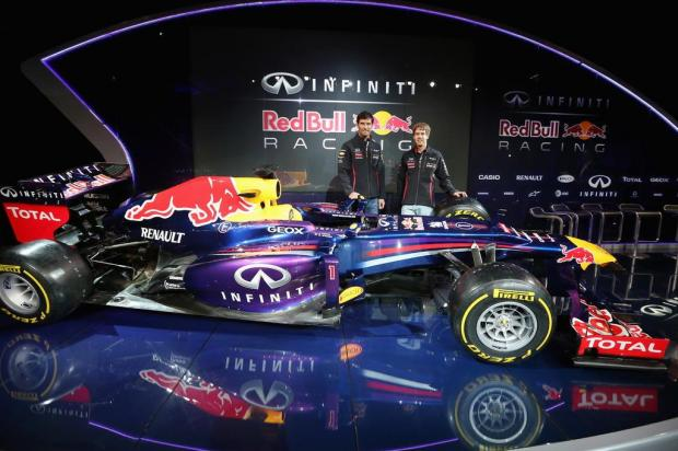 Red Bull apresenta carro para a temporada 2013 Mark Thompson/afp
