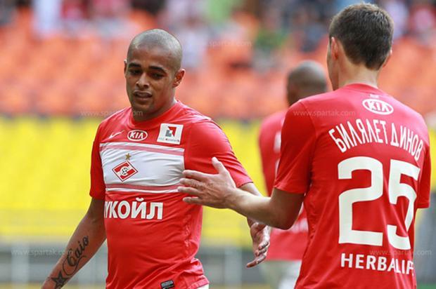 Spartak Moscou oficializa acerto e Welliton é o novo reforço gremista Spartak Moscou/Reprodução/