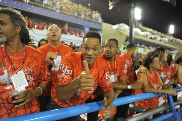 Will Smith esbanja simpatia na Sapuca AgNews/AgNews