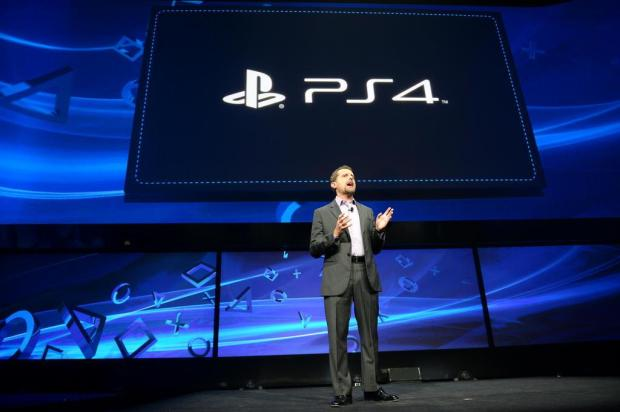 Sony apresenta o PlayStation 4 AFP PHOTO/EMMANUEL DUNAND/AFP
