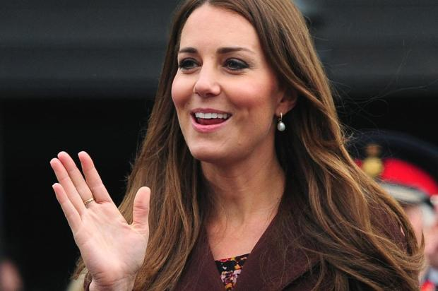 Kate Middleton visita centro de pesca em Grimsby, na Inglaterra Anna Gowthorpe/AFP PHOTO/POOL