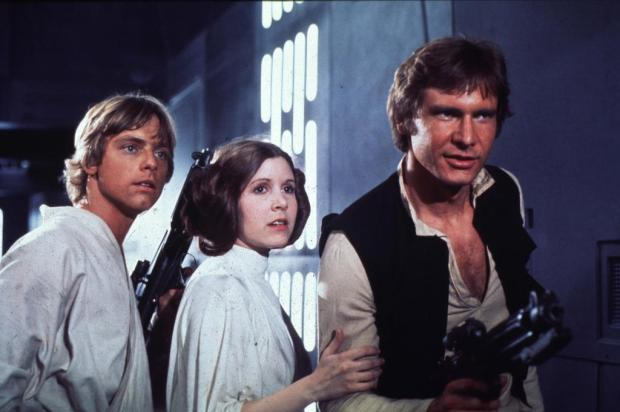 George Lucas confirma negociao com Harrison Ford, Carrie Fisher e Mark Hamill para prximo 'Star Wars' Ver Descrio/Ver Descrio