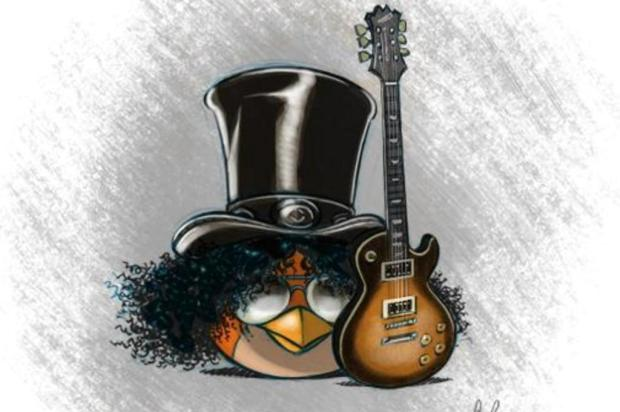 Slash vira personagem do Angry Birds Space Rovio/Reproduo