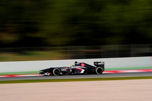 Guia F-1 2013: Sauber e Force India evoluem de olho no pódio Josep Lago/ AFP/