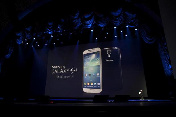 Samsung apresenta o smartphone Galaxy S 4 Allison Joyce/Getty Images/AFP