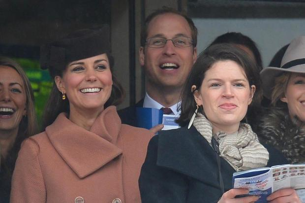 Kate Middleton vai com William à corrida de cavalos ANDREW YATES/AFP
