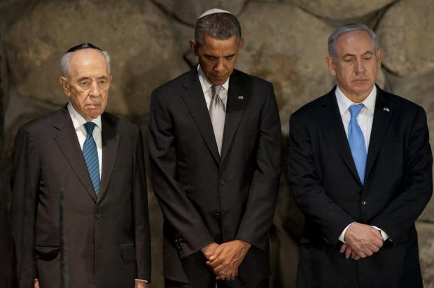 No Oriente Médio, Barack Obama visita Museu do Holocausto Saul Loeb/AFP