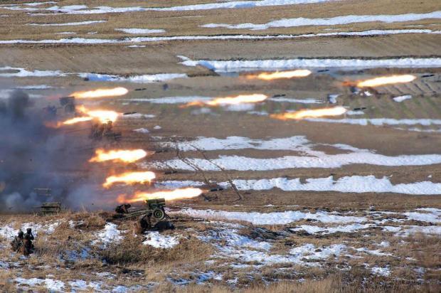 Coreia do Norte ordena que Exército esteja preparado para possível combate AFP PHOTO/KCNA VIA KNS