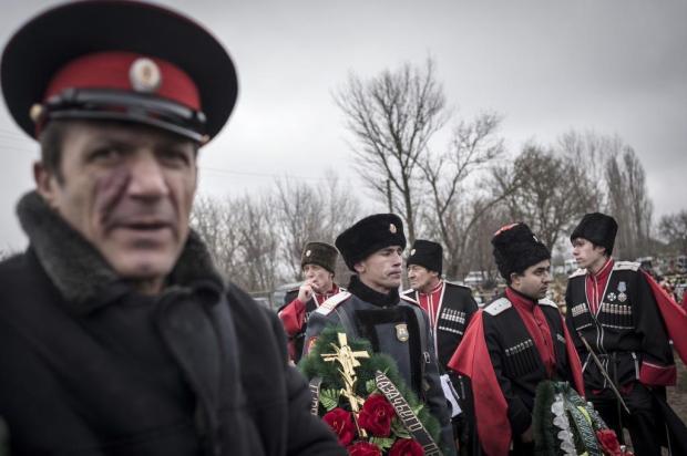 Nacionalismo estimula ressurgimento cossaco Sergey Ponomarev/NYTNS