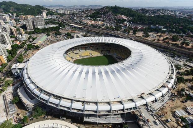 Naldo e Preta Gil farão show em evento-teste do novo Maracanã Christophe Simon/AFP