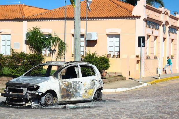 Polícia acredita na relação entre assalto de Pedras Altas e crimes na Serra  Marcel Ávila/Especial