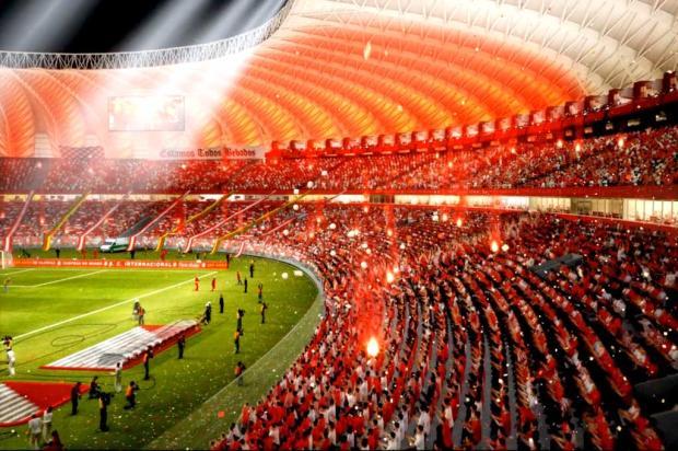 Canal de TV a cabo aponta novo Beira-Rio como um dos cinco estádios mais imponentes do mundo Divulgação/