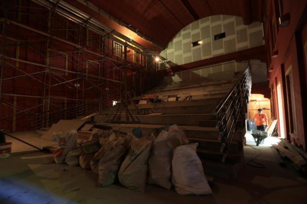 Obras em marcha lenta revelam impasse na gestão de grandes projetos culturais Diego Vara/Agencia RBS