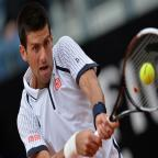 Novak Djokovic garante vaga nas quartas de final do Masters de Roma GABRIEL BOUYS/AFP