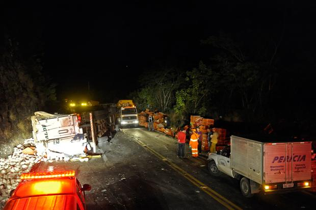 Liberado trânsito na RS-122, entre Antônio Prado e Flores da Cunha Juan Barbosa, Agência RBS/
