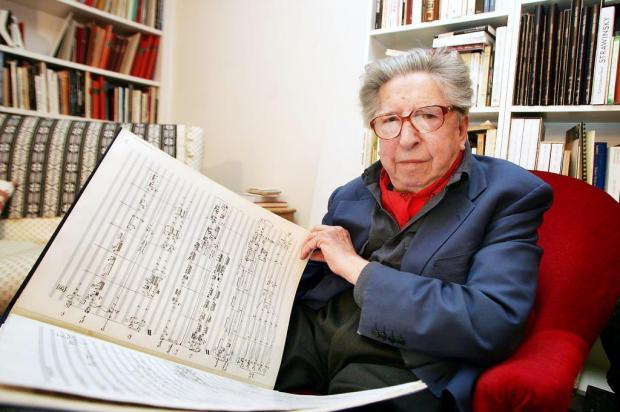 Compositor francês Henri Dutilleux morre aos 97 anos Jean-Pierre Muller/AFP