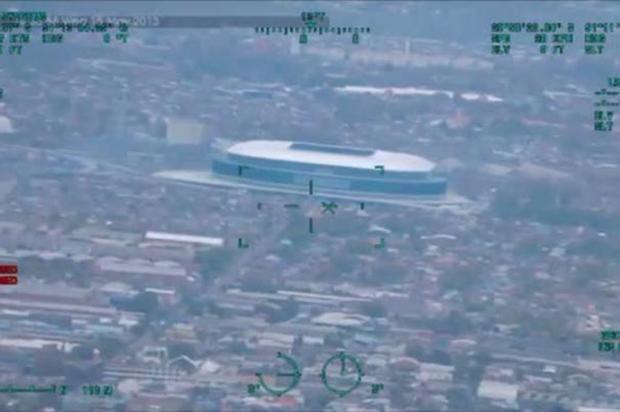 VÍDEO: Piratini divulga imagens captadas pelo novo helicóptero da Brigada Militar Reprodução/