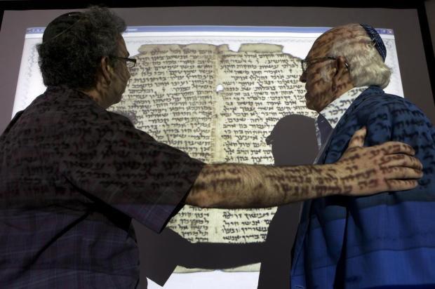 Computadores recompõem o quebra-cabeça da cultura judaica Rina Castelnuovo/The New York Times