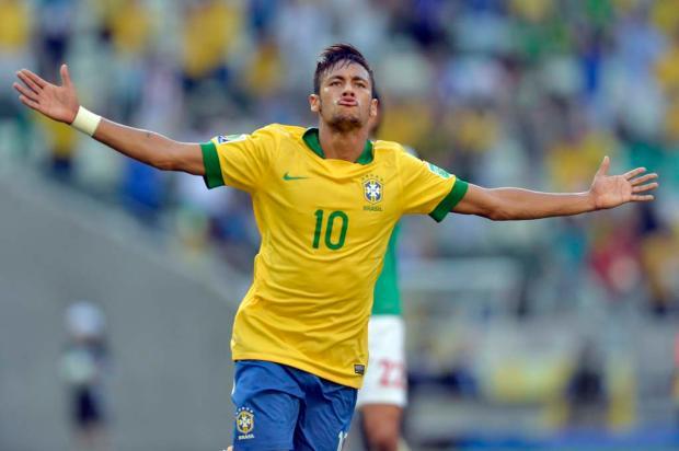 Com show de Neymar, Brasil vence o México por 2 a 0 no Castelão Yuri Cortez,AFP/