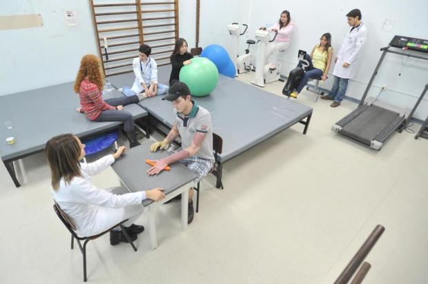 Fisioterapia ajuda na recuperação dos sobreviventes da tragédia Jean Pimentel/Agencia RBS