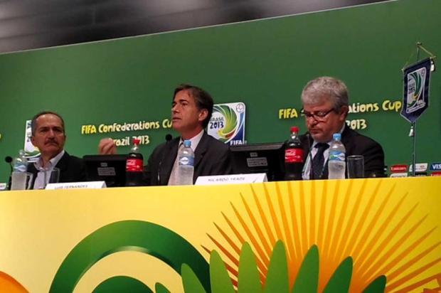 Fifa nega possibilidade de tirar Copa do Brasil, mas se recusa a falar sobre protestos no país Twitter/Reprodução/