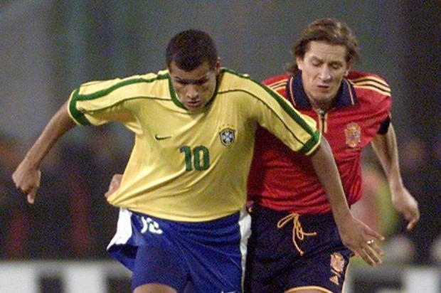 Brasil leva a melhor em confrontos raros contra a Espanha na história AFP Photo/