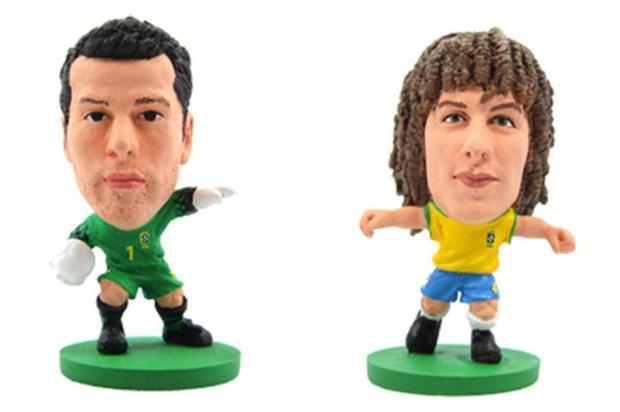 Seleção Brasileira terá mini craques para a Copa de 2014 Divulgação/soccerstarz.com