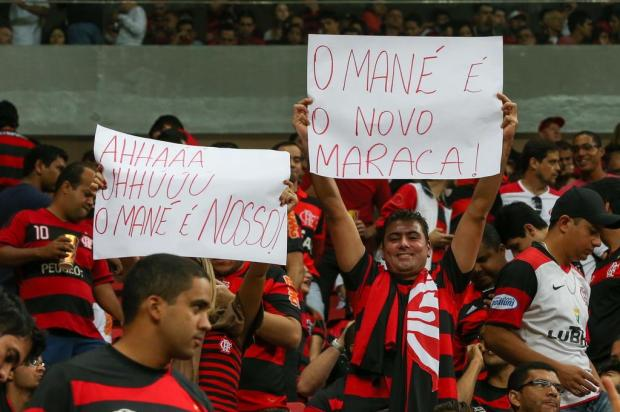 Partida no Mané Garrincha dá ao Flamengo mais renda que 19 jogos do clube em 2012 Lula Marques/GDF