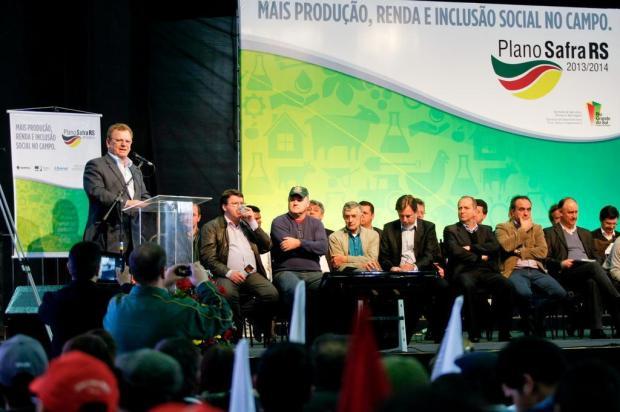 Plano Safra estadual 2013/2014 prevê R$ 2,67 bilhões em recursos Alina Souza,Palácio Piratini/divulgação