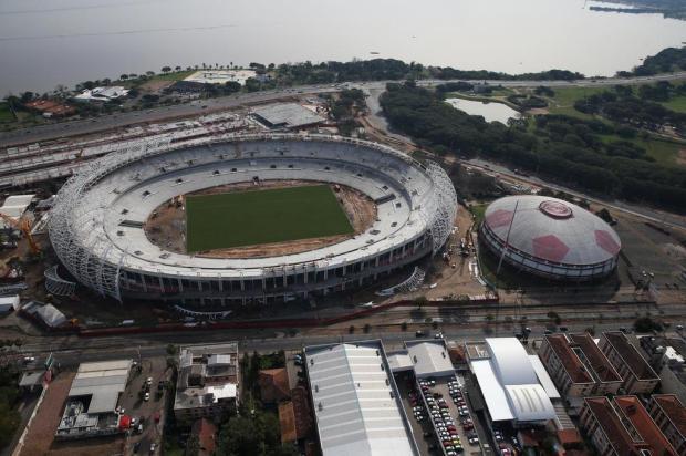 Com 500 dias de obras, Inter divulga vídeo sobre a modernização do Beira-Rio Diego Vara/Agencia RBS