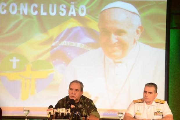 Operação contará 13 mil homens para blindar o Papa na Jornada da Juventude Adriano Ishibashi/Agência O Globo