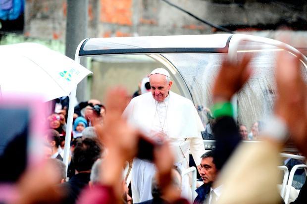 Leia a íntegra do discurso do Papa na favela de Varginha Mauro Vieira/Agência RBS