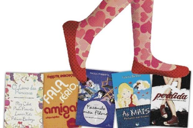 Cresce no Brasil o mercado de livros infantojuvenis voltados para meninas Diagramação ZH/Reprodução