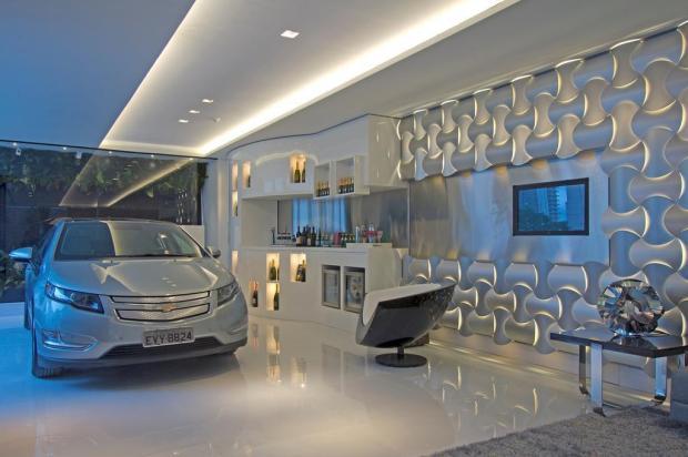 Painel tridimensional: mais efeito estético e acústico dentro de casa Wovin Wall/Divulgação