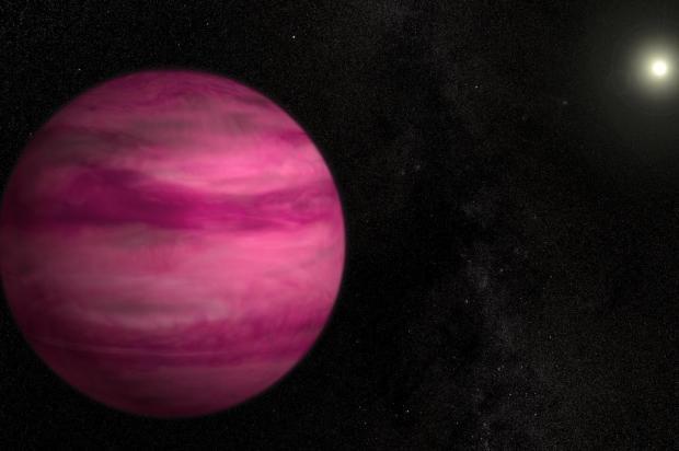 Nasa descobre planeta cor-de-rosa a 57 anos-luz da Terra NASA/Divulgação