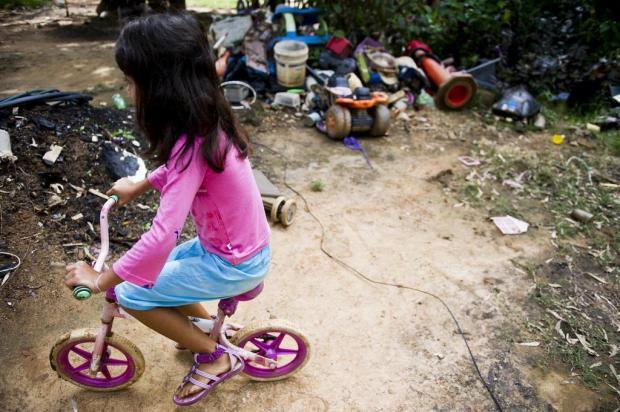 Pobreza é pior do que cocaína para a saúde de bebês, conclui estudo Mateus Bruxel/Agencia RBS