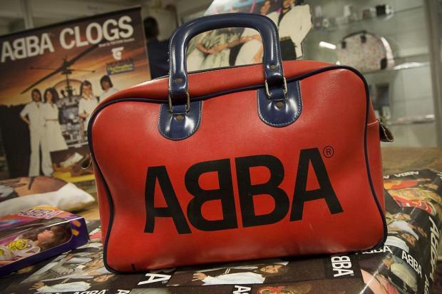 Leilão de artigos do grupo ABBA tem resultado abaixo da expectativa Jonas Ekstroemer,Scanpix Sweden/AFP