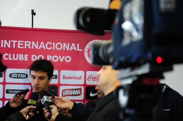 Novato do Inter, Scocco recebe ajuda dos gringos para se ambientar a Porto Alegre Fernando Gomes/Agencia RBS