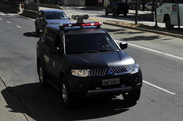BM testa viatura com sistema de identificação de rostos e placas Tadeu Vilani/Agencia RBS